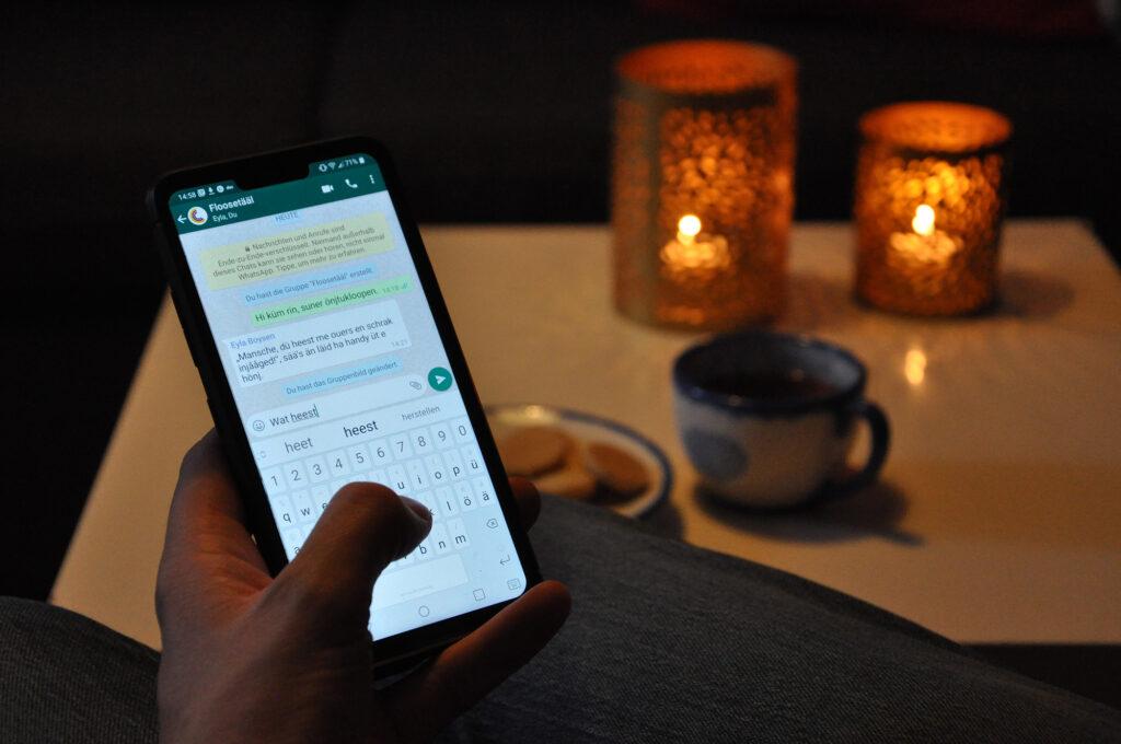 Friesische Gruppengeschichte über WhatsApp Bild Eyla Boysen